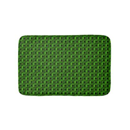 Barnacles in Green Bath Mat - home gifts ideas decor special unique custom individual customized individualized