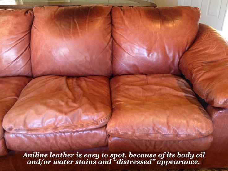 How To Remove Water Spots From Leather Furniture