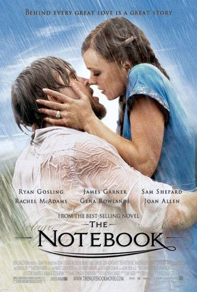 The Note Book movies-so sad but they turely loved each other . what a way to go..