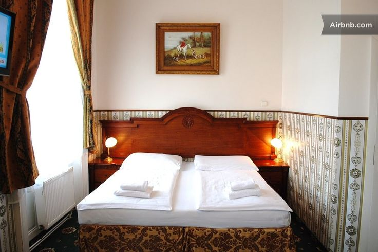 Bed & Breakfast in Prague, Czech Republic. Art Nouveau hotel building, which breathes the atmosphere of old times offers convenient and comfort accommodation with the touch of luxury and all up to date standards in its category. Pleasant style of room corresponds with historical building a...