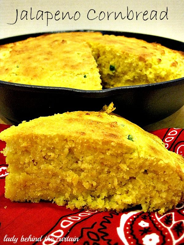Jalapeno Cornbread Recipe ~Made this and It's good! A