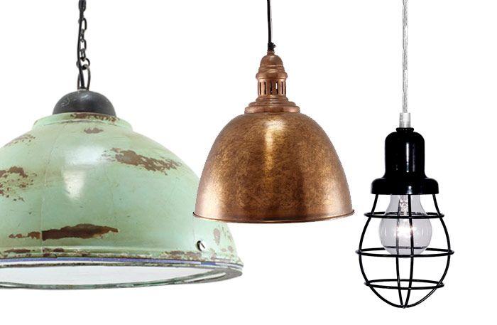 17 snygga industrilampor till köket – alla under 1000 kr