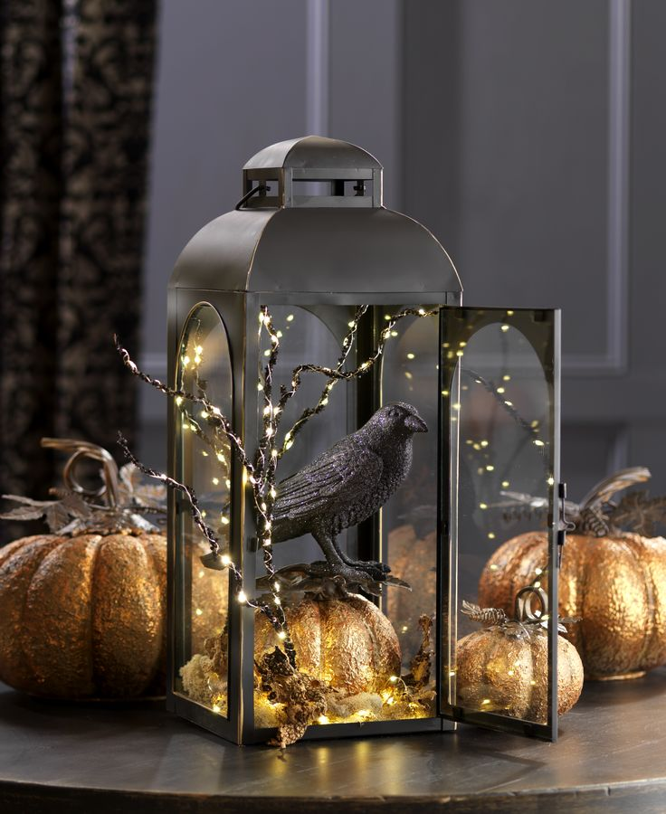 crow lantern from the fall winter 2016 collection by raz imports shop raz