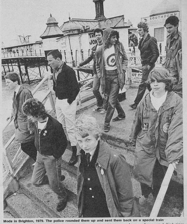 #Mods 1979 in Brighton