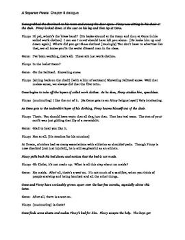 a separate peace chapter 8 script teaching ideas a separate peace study guide answer key quizlet a separate peace study guide answers mcgraw hill