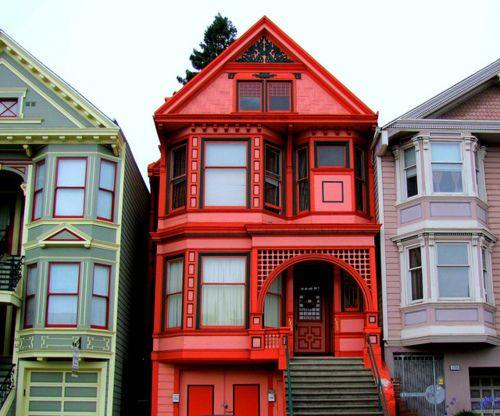 San francisco colors architecture arquitectura - Arquitectura victoriana ...