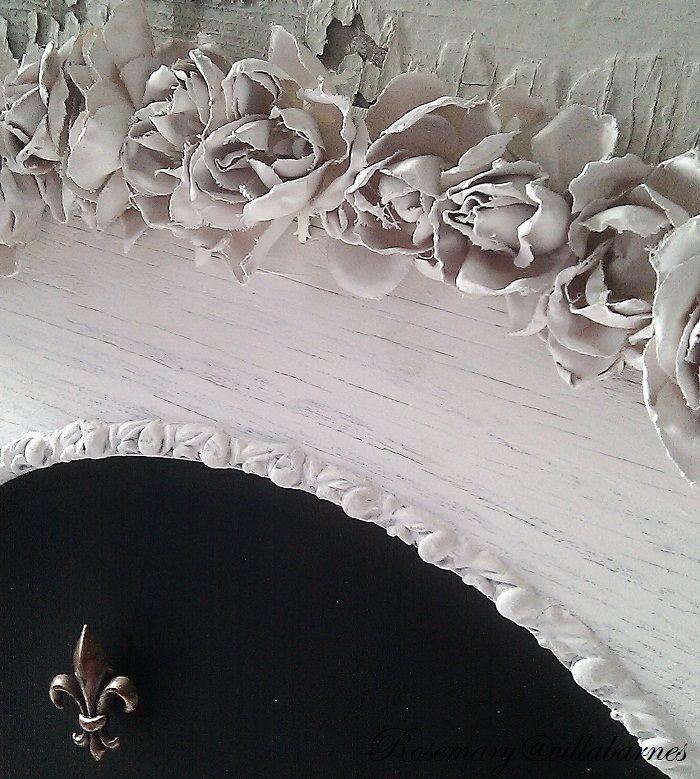 7383 best silk flowers images on pinterest silk flowers fabric diy glue silk flowers to framesmirrors etc then spraypaint tutorial via villa barnes mightylinksfo