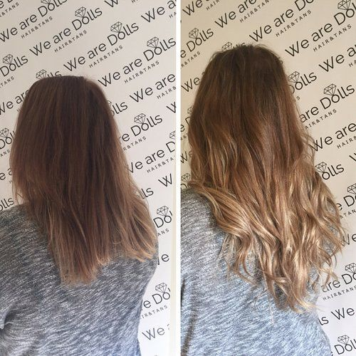 Secret Veil Hair Extensions Before And After