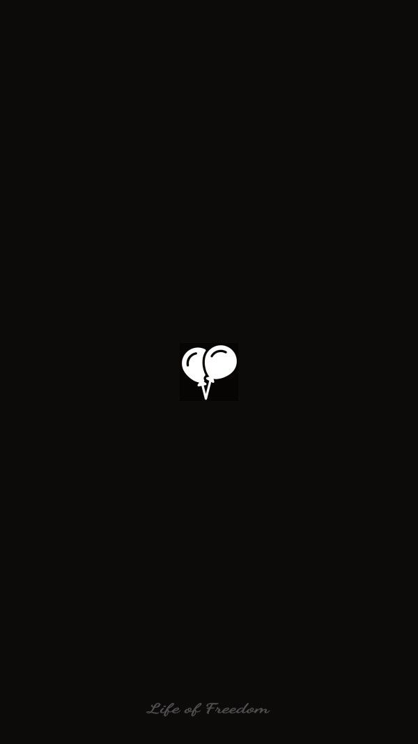 Wallpaper Of Art Outline Icon Design In Dark Black Backgrounds Instagram Black Theme Black Backgrounds Black Aesthetic Wallpaper Black and white wallpaper icon