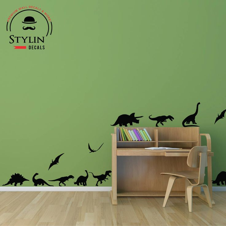 DINOSAUR WALL DECAL  Dinosaur Wall Art Kids Room Wall Decal  Dinosaur  Stickers From Part 50