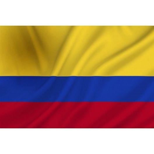 Dit is de vlag van Colombia waar het allemaal afspeelde.