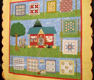 """""""The Quilt Show"""" by Carole L. Corder: Applied Quilts, Smile Quilts"""