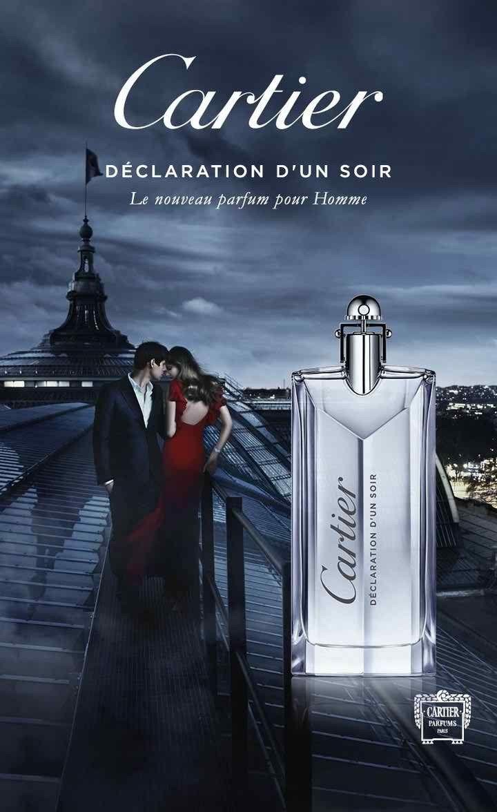 Cartier / DECLARATION D'UN SOIR EDT 📱09391501770 📞02188053644 | Parfum  homme, Publicité parfum, Parfum francais