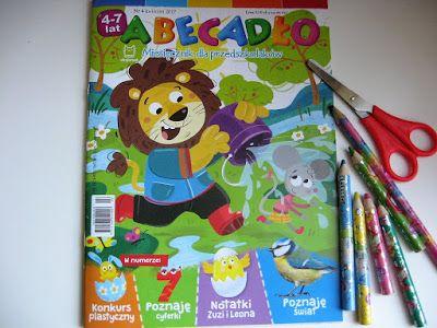 """Nasz świat wypełniony ksiażkami: Coś dla mądrego przedszkolaka! """"ABECADŁO"""" (Wydawni..."""