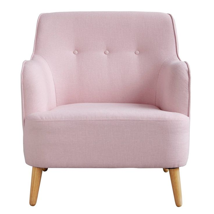 House Doctor fauteuil Quest dusty pink
