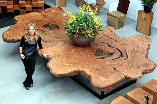 Wood furniture Sustainable Tora Brasil – A piece of wood in the house