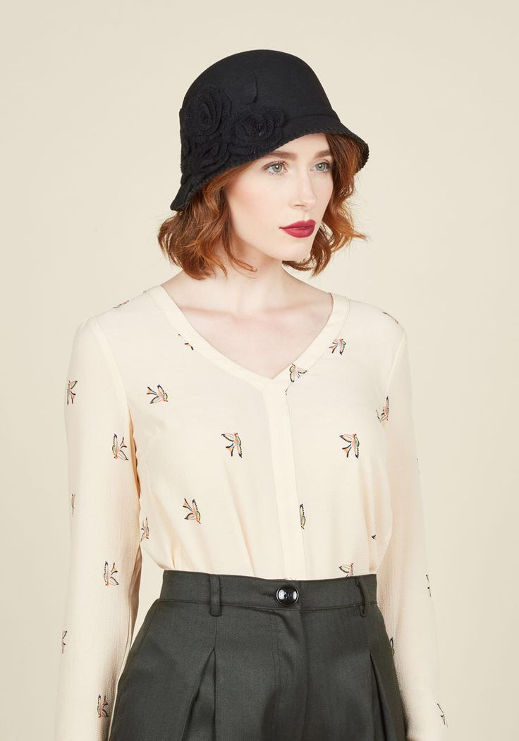 Hold Me Cloche Hat, #ModCloth