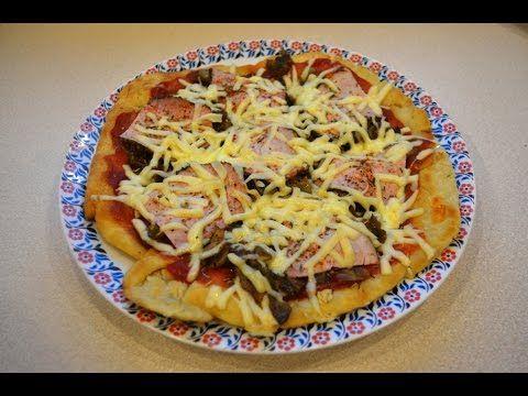 Pizza z patelni   przepis na, jak zrobić, jak ugotować