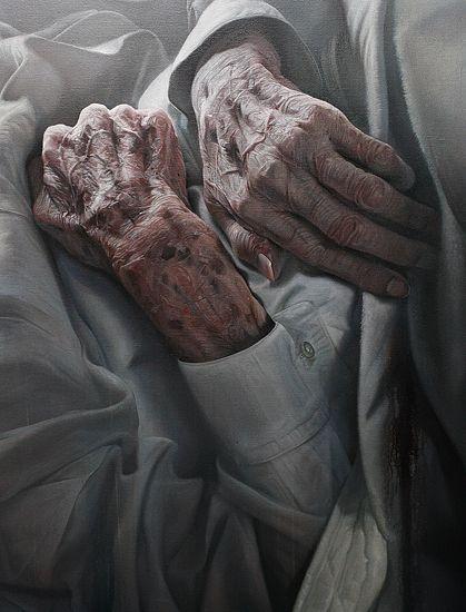 Detail: Kazuo Ohno by Atsushi Suwa