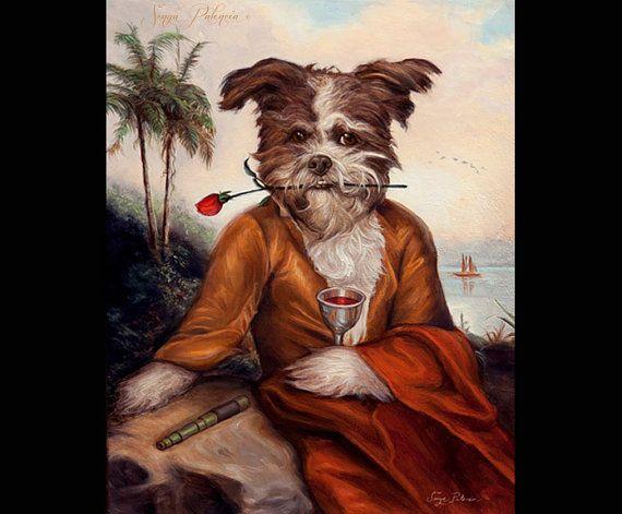 Sonya Palencia Royal huisdier portretten zijn gekenmerkt in Vanity Fairs vijftien luxe geschenken voor the Pet Lover, bevorderd door de Pee Wee Herman, en een favoriet onder beroemdheden en huisdier liefhebbers wereldwijd!  Deze Commissie omvat: een ingelijst aangepaste 11 x 14 Royal huisdier portret olieverfschilderij.  Als u uw harige vriend met een Royal huisdier portret te vereeuwigen overweegt, is hier wat informatie over het proces:  1. foto en beschrijving vragen: wanneer de…