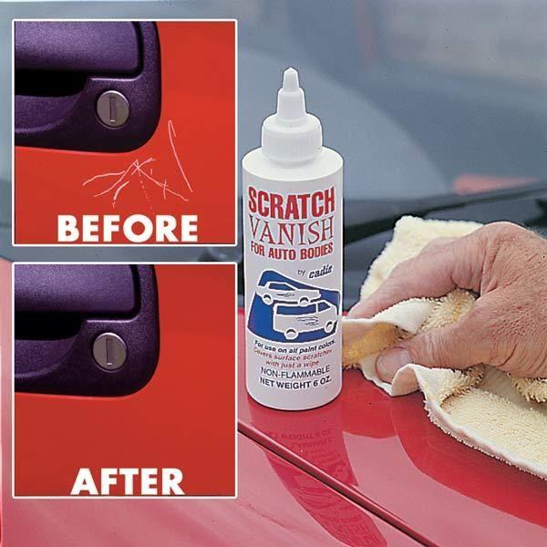 How to Apply Car Scratch Wax #stepbystep