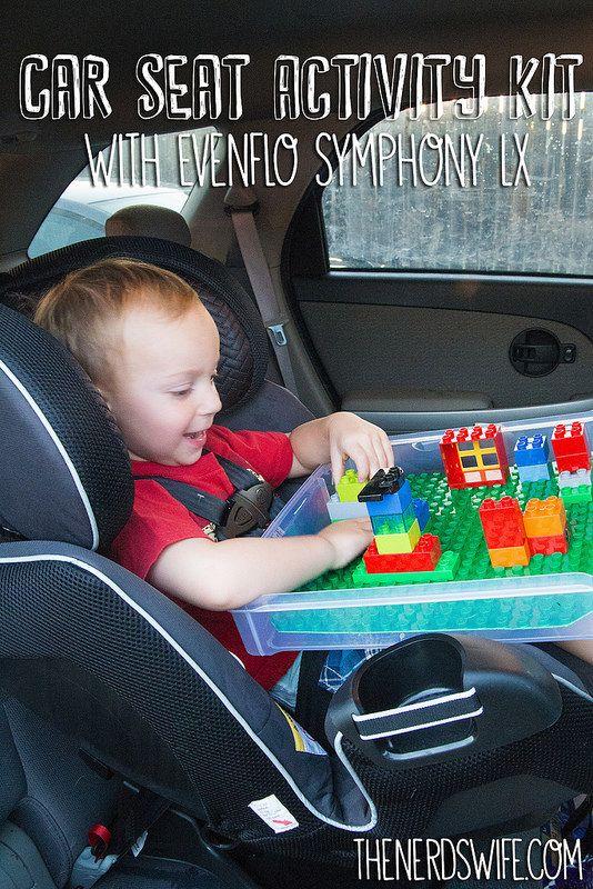 Car Seat Activity Kit With Evenflo Symphony LX