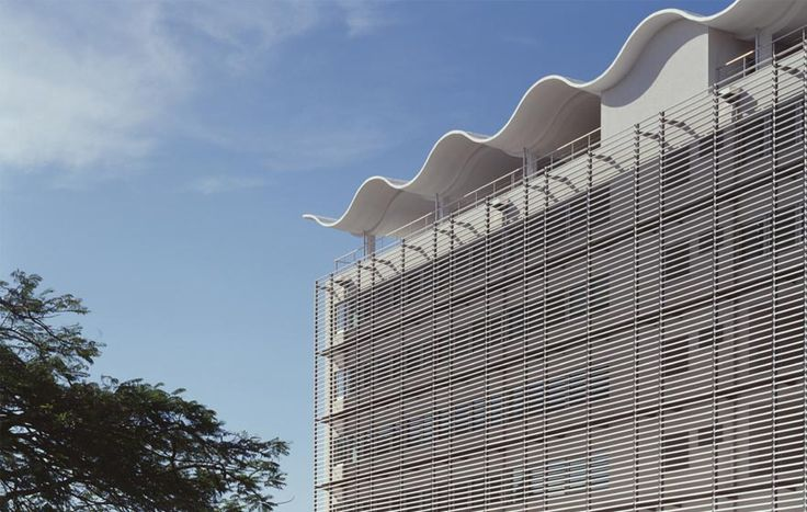British High Commission, The Manser Practice #cladding #glass #glazing #concrete #louvres #africa #tanzania