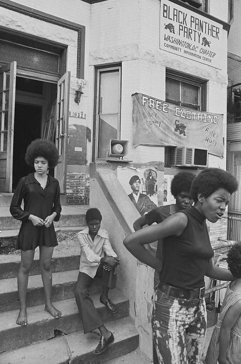 Black Panther Community Center, 132 17th St. NW c. 1970