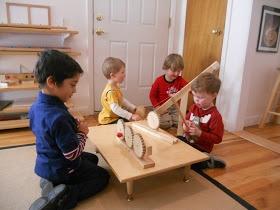 Montessori in Bloom: Simple Machines- Part One