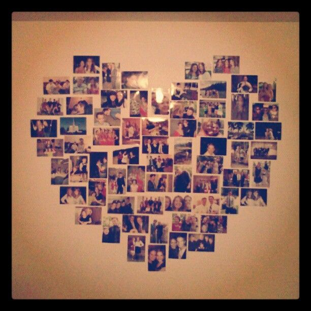 Best 20+ Photo heart collage ideas on Pinterest | Heart photo ...