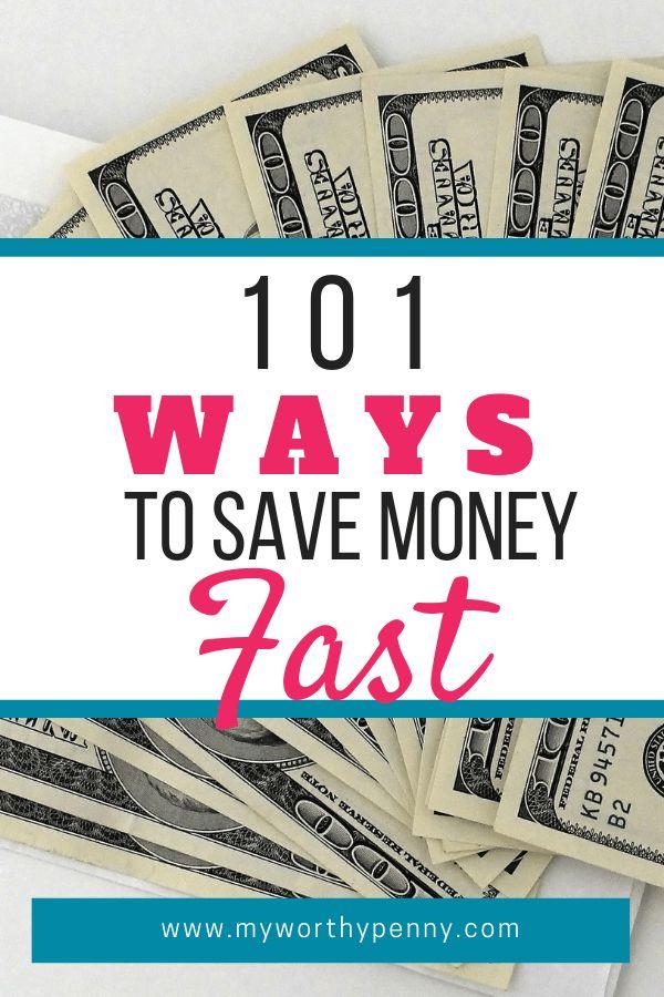 Suchen Sie nach Möglichkeiten, um schnell Geld zu sparen? In diesem Beitrag finden Sie 101 was …   – Best of My Worthy Penny