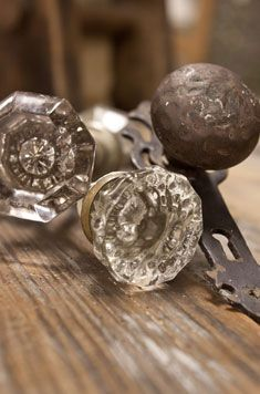 Discount Home Warehouse Architectural Salvage -- located in Dallas, has all kinds of vintage doors, doorknobs, hardware, etc; might be a fun place to look for items that would add character to a new home