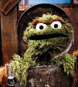 Sesame Street and Oscar The Grouch