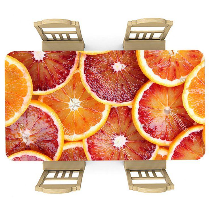 Tafelsticker Bloedsinaasappels | Maak je tafel persoonlijk met een fraaie sticker. De stickers zijn zowel mat als glanzend verkrijgbaar. Geschikt voor binnen EN buiten! #tafel #sticker #tafelsticker #uniek #persoonlijk #interieur #huisdecoratie #diy #persoonlijk #sinaasappels #bloedsinaasappels #rood #oranje #fruit #gezond #voedsel #eten #keuken