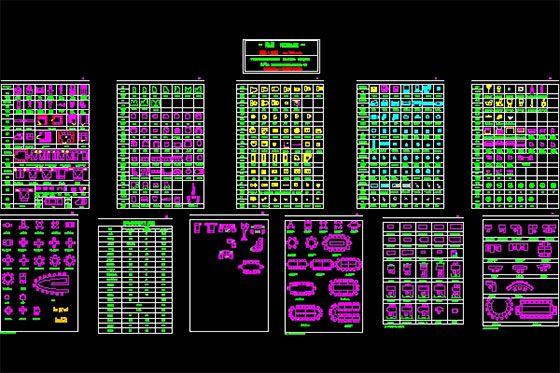 Pin by MIKASA on AUTOCAD   Cad blocks, Cad blocks free, Autocad