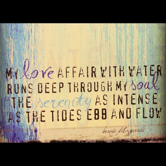 Water Love Quotes