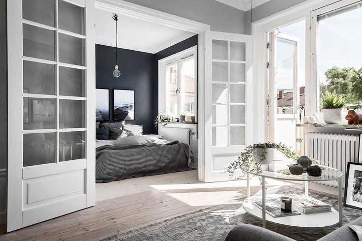 Small Stockholm apartment in grey-tones Follow Gravity Home: Blog - Instagram - Pinterest - Bloglovin - Facebook