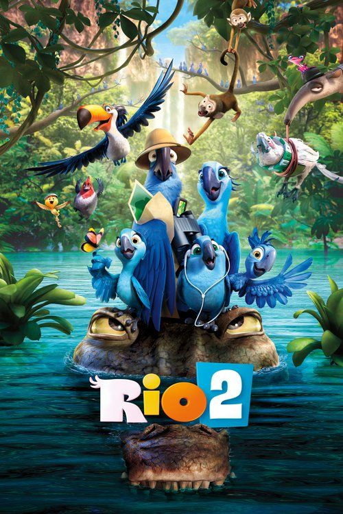 Watch Rio 2 2014 Full Movie Online Free Download HD BDRip  #Rio2 #movies #movies2014 (It's a jungle out there for Blu, Jewel and their three kids after they're hurtled from Rio de Janeiro to the wilds of the Amazon. As Blu tries to fit in, he goes beak-to-beak with the vengeful Nigel, and meets the most fearsome adversary of all: his father-in-law.) #film25652