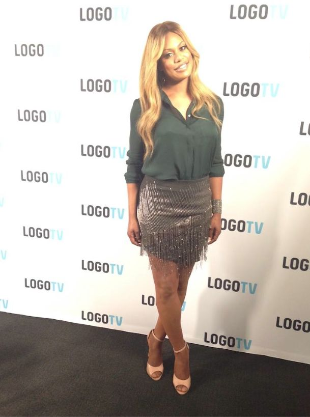 Laverne Cox promotes her new MTV documentary 'The T Word ...