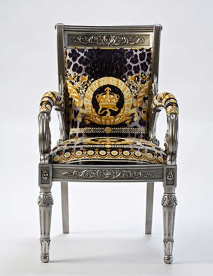 10 best images about versace on pinterest armchairs gianni versace and vintage versace. Black Bedroom Furniture Sets. Home Design Ideas