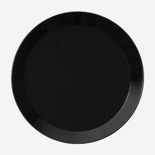 Iittala - Teema, Lautanen 26 cm musta