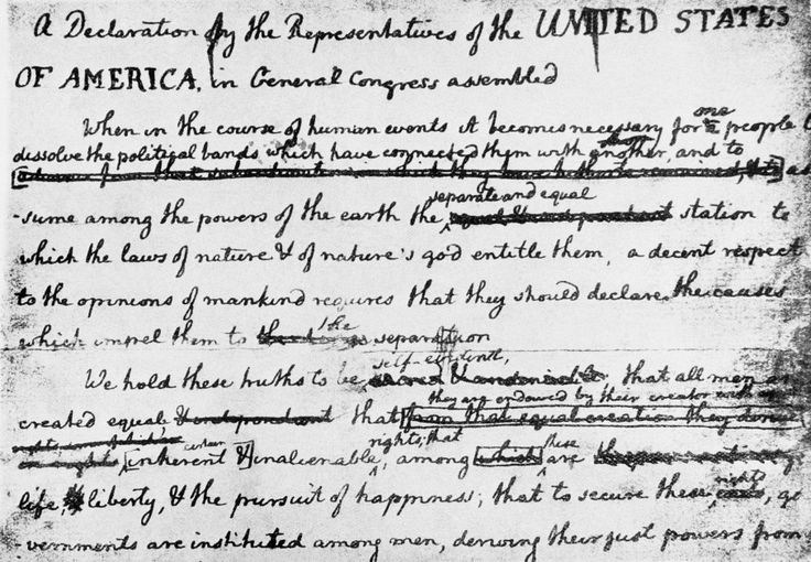 the declaration of independence gave birth to freedom In fact, the very first declaration of independence came on oct 4, 1774 (21   original and that our ideas of freedom and rights were new and progressive   the claim that jefferson fathered children with hemings started by.