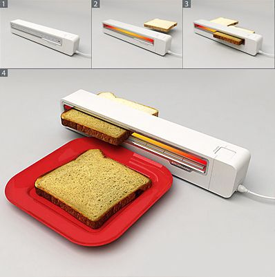 Rollertoaster by Jaren Goh: Jaren Goh, Red Dots, Rollers Toaster, Things, Home Kitchens, Kitchens Gadgets, Products, Design, The Breads
