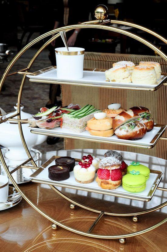Love! The Ritz Carlton Afternoon Tea.