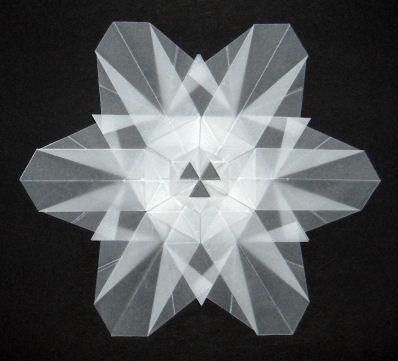 Christmas Origami Instructions Snowflake Pelauts.Com