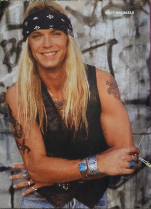 147 Best P Poison Images On Pinterest Bret Michaels Hair Bands