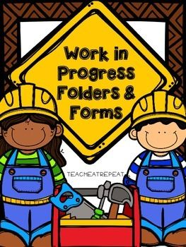 Work in Progress Folders and Forms | Construction ...