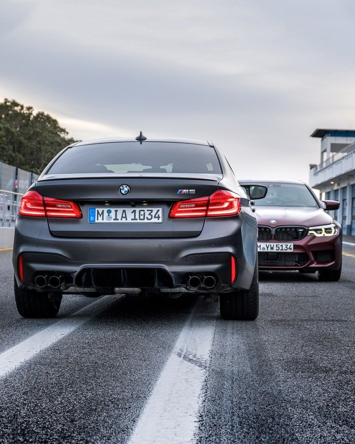 Bmw F90 M5 In Bmw Individual Frozen Black Metallic Bmw