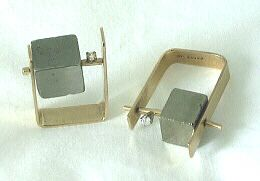 Betty Cooke - gold, pyrite, diamond, rings