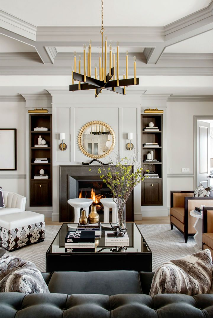 Glamorous Chic And Sophisticated Interiors Chic Interior Design